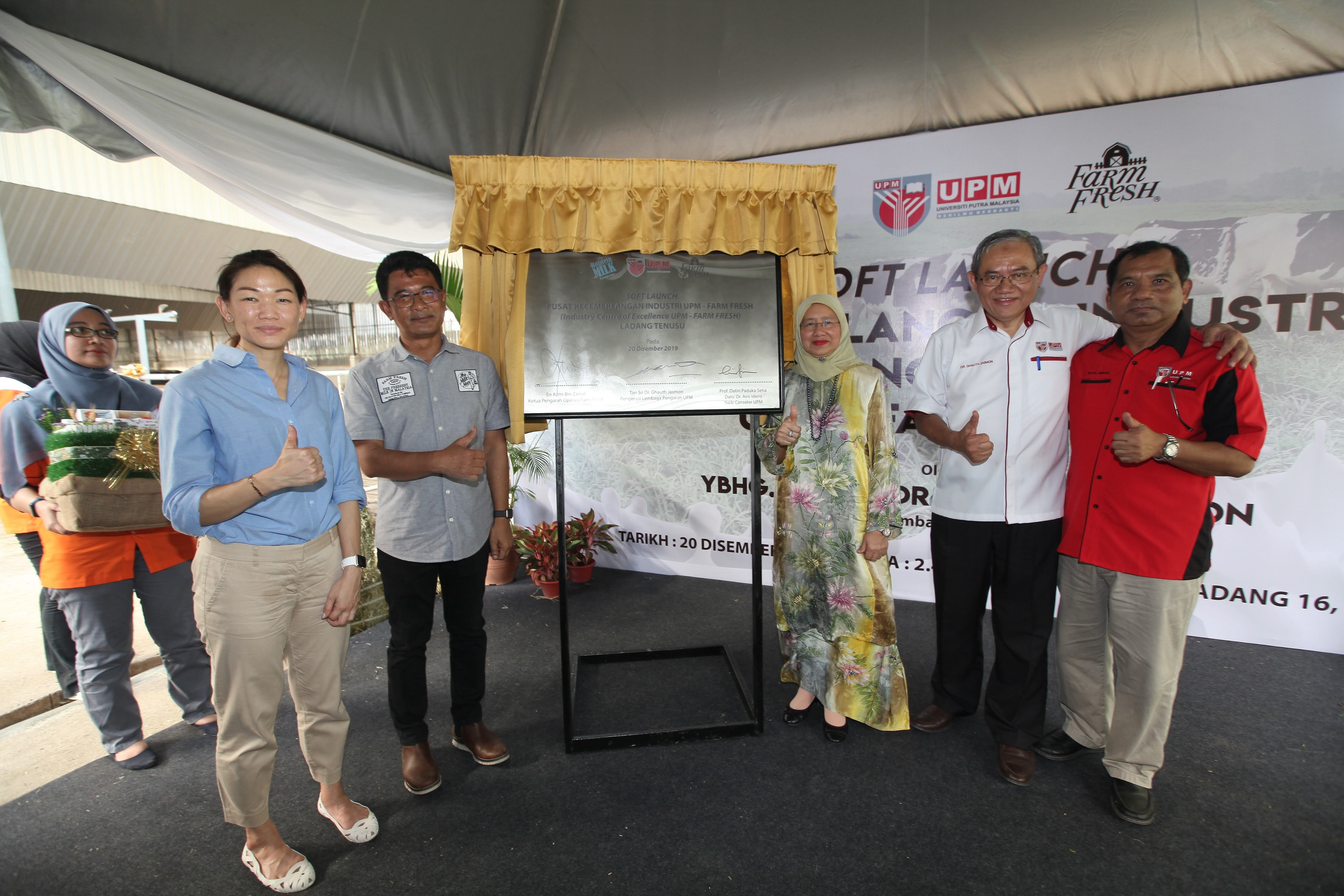 UPM-Farm Fresh establishes an Industry Centre of Excellence (ICOE) for dairy farming